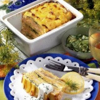 Kartoffel-Lachs-Pastete