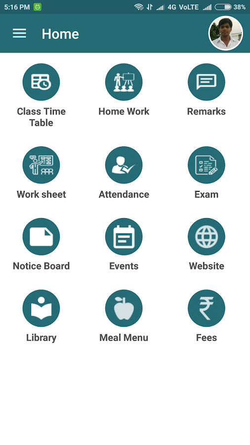 Madhav International School- screenshot