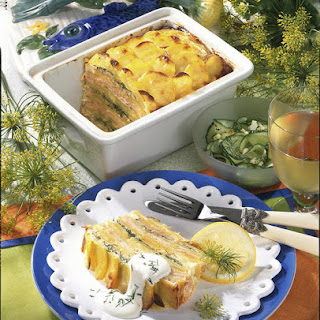 Potato and Salmon Terrine