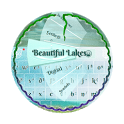 Beautiful Lakes GO Keyboard icon