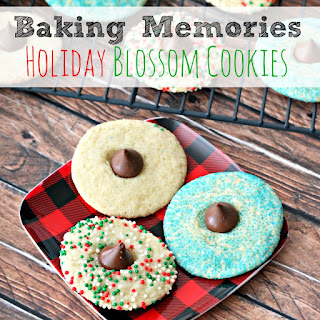 Baking Memories with Holiday Blossom Cookies