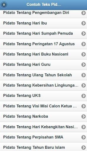 Download Contoh Teks Pidato Singkat Google Play Softwares