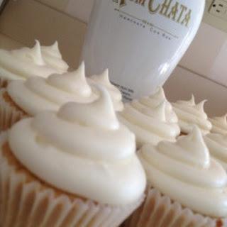 Rum Chata Cupcakes.