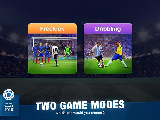 FreeKick Soccer World 2018 1.6.6 gameplay | by HackJr.Pw 14