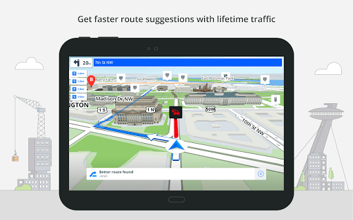 GPS Navigation & Offline Maps Sygic screenshot 11