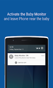 wear baby monitor android apps on google play. Black Bedroom Furniture Sets. Home Design Ideas
