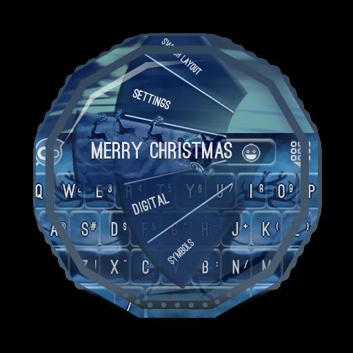 メリークリスマス GO Keyboard 個人化 LOGO-玩APPs