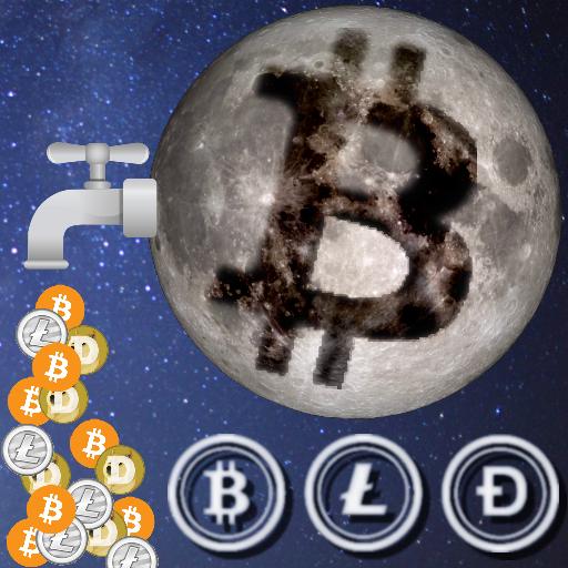 Moon Faucet - Bitcoin Litecoin Dogecoin & CoinPot