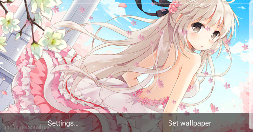 Anime Girl HD Live Wallpaper