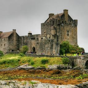 Eilean Donan Castle by Peter Keast - Travel Locations Landmarks ( scotland, uk, eilean donan, castle,  )