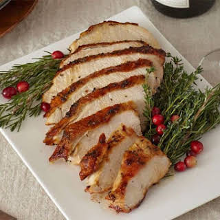 Herb-Roasted Turkey Breast.