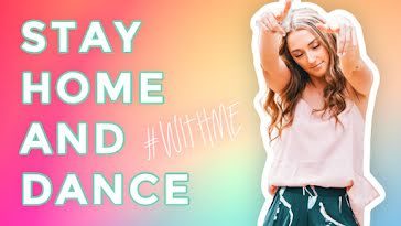 Stay Home & Dance - YouTube Thumbnail Template