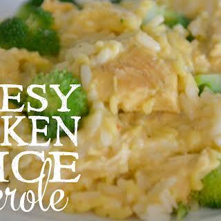 Easy Freezer Chicken & Rice Casserole.