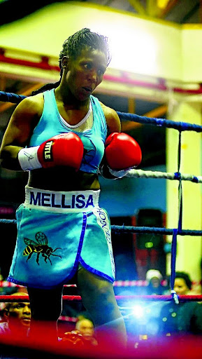 Melissa 'Honey Bee' Miller is geared up for Ellen Simwaka in Bloemfontein tonight.  / Medimeli Mulugana