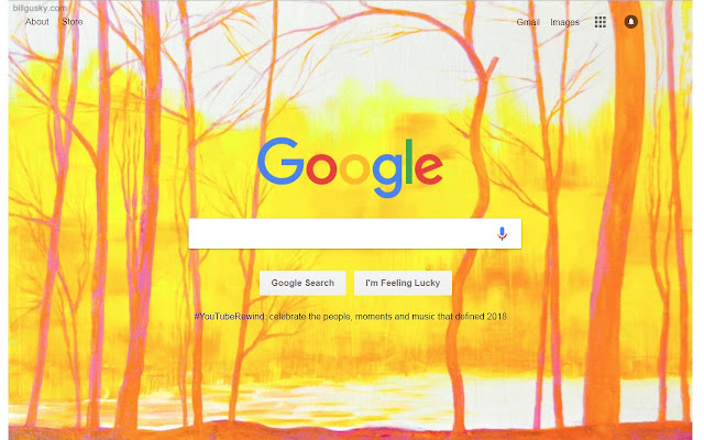 Make 'River Dawn' your Google Background