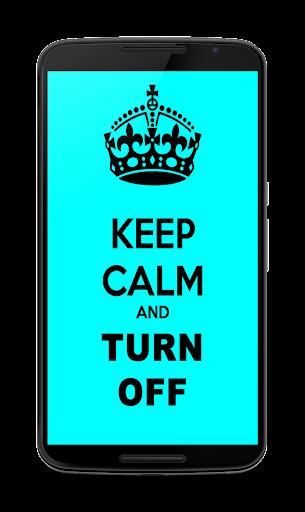 Keep Calm light linterna. 1.0.4 screenshots 2