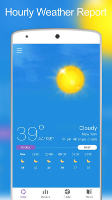 Weather & News - screenshot