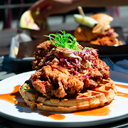 Mama's Bourbon Chicken And Waffles