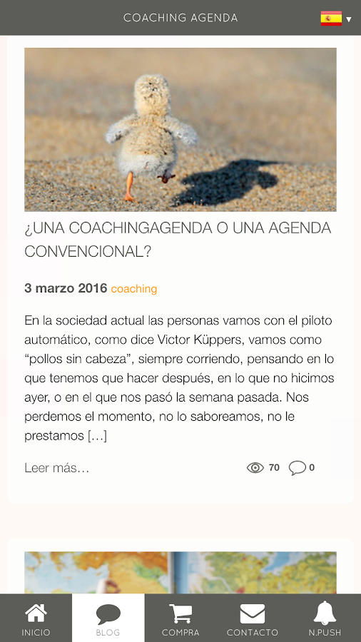 CA CoachingAgenda: captura de pantalla
