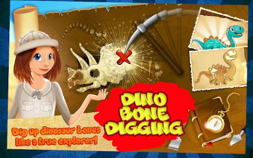 Dino Bones Digging – Young Explorers 4