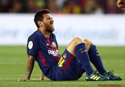Barcelone devra faire sans Messi en Ligue des champions