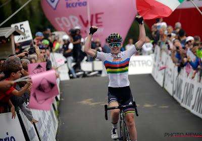 Wereldkampioene wint voorlaatste etappe in Giro Rosa, Van Vleuten lijkt zeker van eindwinst