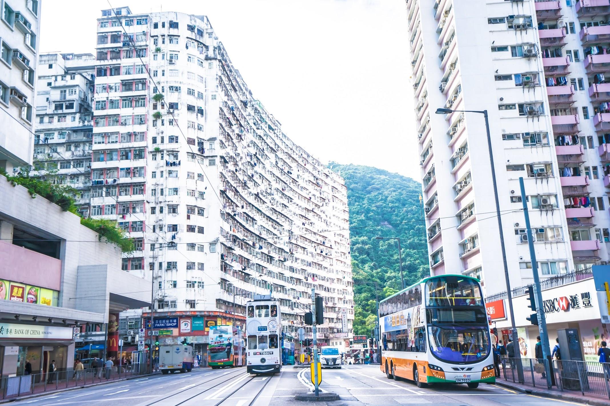 Hong Kong Tai Koo tram