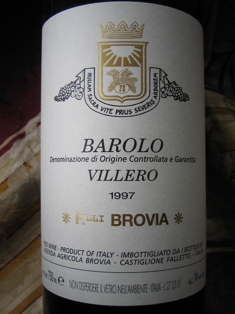 1997 wines