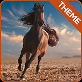 Galloping Horse Theme GO ADW