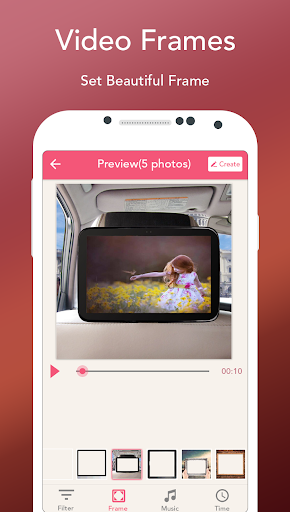 Photo Slideshow with Music - Song Movie Maker 14.0 screenshots 4