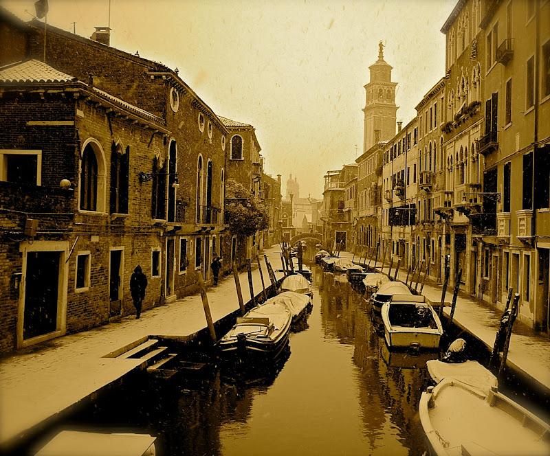 Venezia sotto la neve di Alessandra Alba