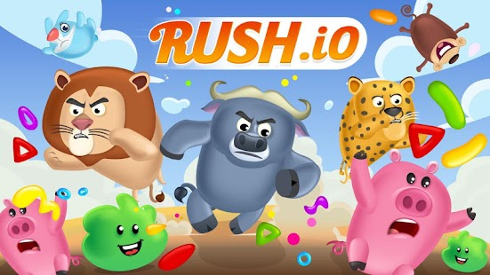 Rush.io - Multiplayer Screenshot