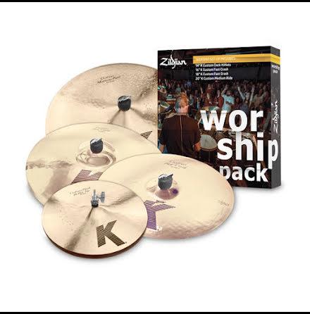Zildjian K Custom Worship Pack - KC0801W