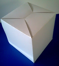 Photo: Caixa (20) para panetones e bolos.