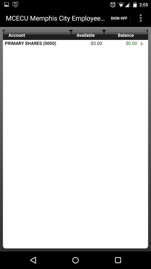 Memphis City Employees CU - screenshot