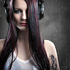DJing by Jon de Guzman Jr - People Portraits of Women