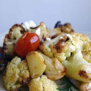 Mediterranean Roasted Cauliflower