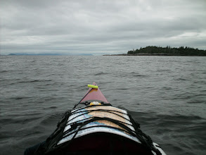 Photo: June 26 - Approaching Tree Point light.
