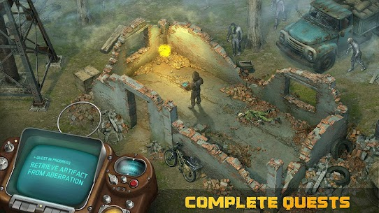Dawn of Zombies Survival Apk Mod Free Craft + God Mod 3