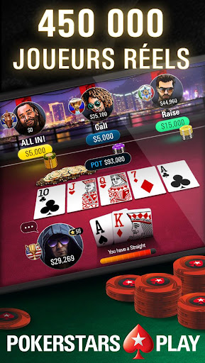 PokerStars Play – Texas Hold'em Poker  captures d'écran 1