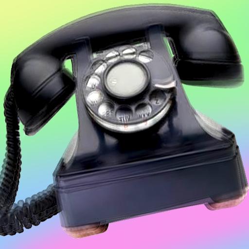 媒体与影片の古典的な古い電話の着信音 LOGO-記事Game