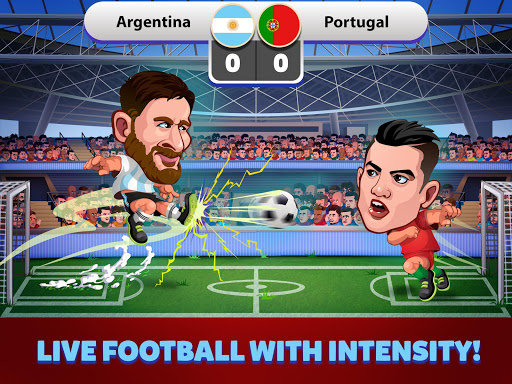 Head Soccer Russia Cup 2018: World Football League for PC
