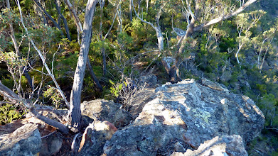 Photo: Climbing up onto Bonnum Pic ridge