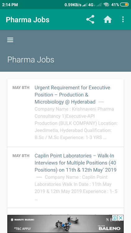 Pharma Jobs – (Android Apps) — AppAgg