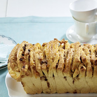 Monkey Bread with Candied Peanuts and Chocolate Chips.