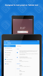 Calendar Notify - Agenda on Status, Lock & Widget Mod