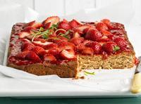 Fresh Strawberry Bars Recipe