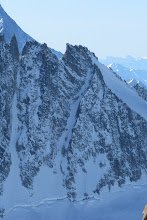 Photo: From left to right Couloir Pointe Girord & Chevalier