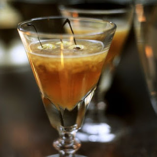 Warm Fruity Cocktail with Apple Brandy Recipe