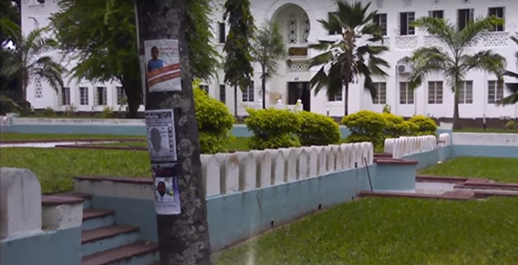 Graduation Square at the Technical University of Mombasa.    Picture: YOUTUBE